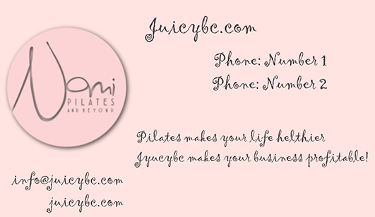 Additional elegant business cards templates